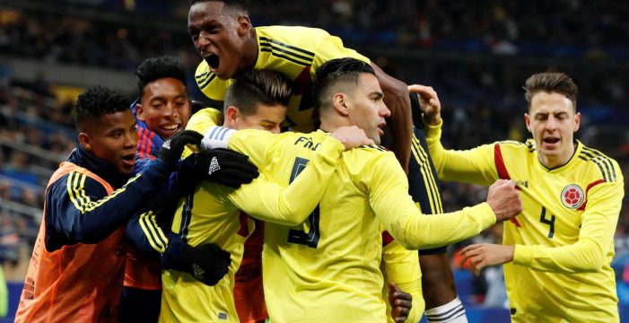 Francia vs Colombia: Prueba superada