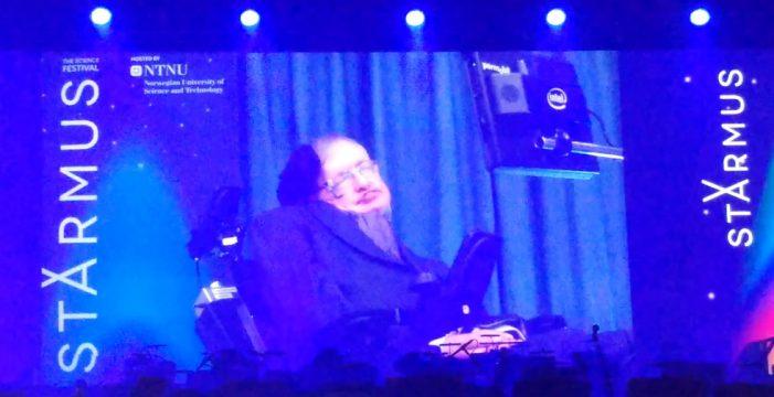 Un viaje para conocer a Stephen Hawking