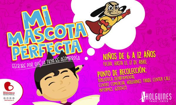 Biblioteca Departamental convoca a niñez vallecaucana a escribir un cuento sobre su mascota perfecta