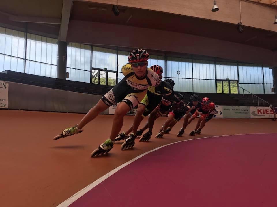 Equipo Valle Oro Puro de patinaje ya rueda en Europa