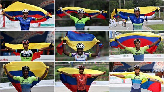 Nueve vallecaucanos vestirán la tricolor
