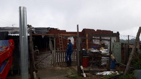 280 familias de comunidad indígena en Florida, afectadas por temporal
