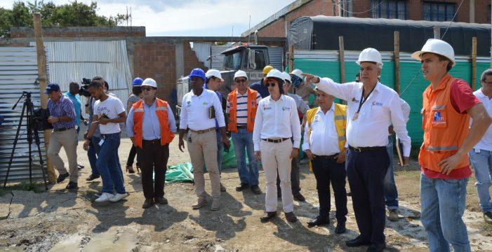 Piden agilizar evacuación de viviendas que interfieren obras de nuevo puente de Juanchito