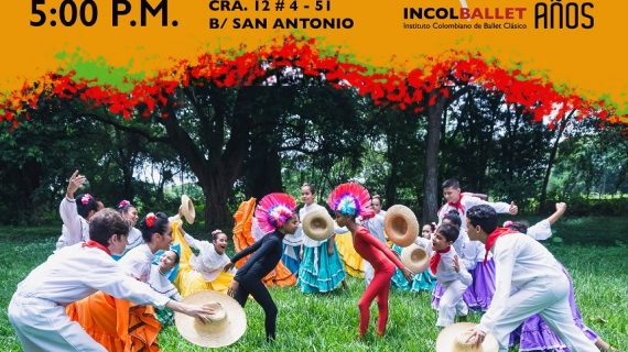 """El Instituto Colombiano de Ballet Clásico – Incolballet, Presenta en Cali Teatro """"La finca de mi tía""""."""