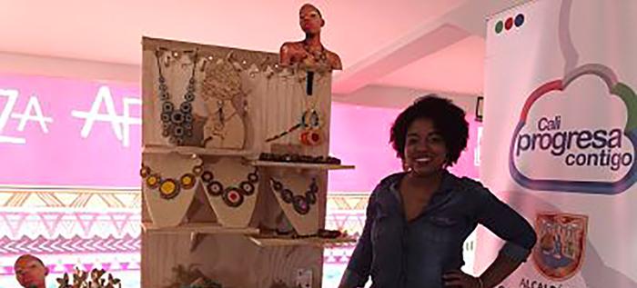 La belleza afro se resaltó en el Cali Beauty Show