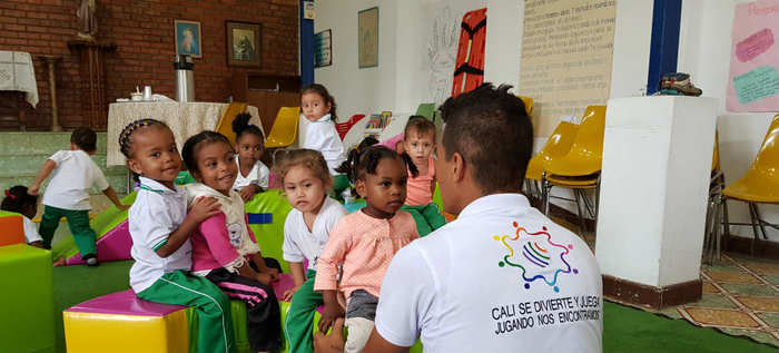 Sábado de diversión para niños y niñas con el programa Cali se Divierte y Juega