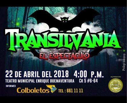 """Llega al Teatro Municipal """"Transilvania el espectáculo"""""""