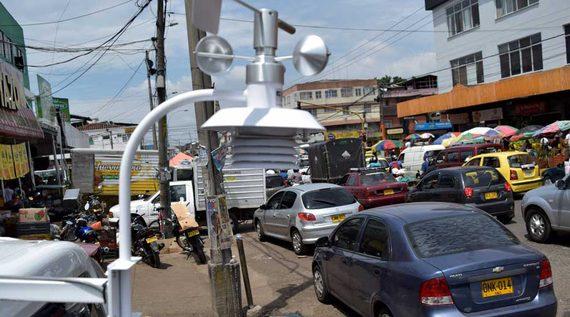 Dagma fortalece la red de monitoreo de ruido de Santiago de Cali