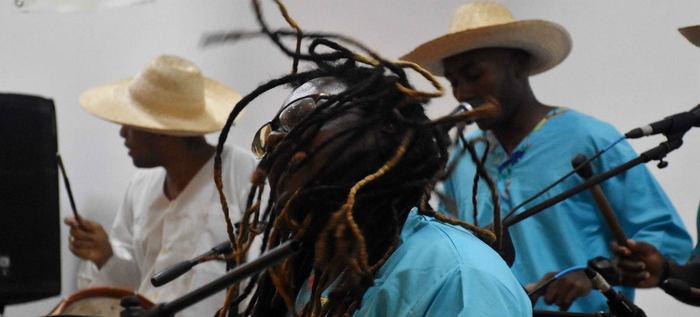 La diáspora africana y sus sonidos en la plazoleta del Centro Cultural de Cali