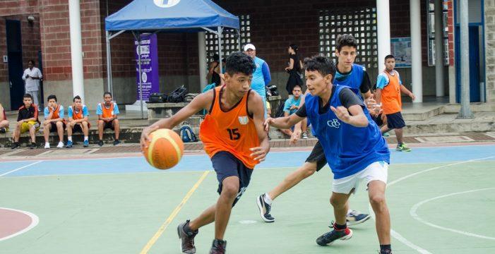 El baloncesto llegó el fin de semana a la Liga Deporvida