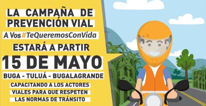 Gobernación inició campaña de seguridad vial 'A Vos #TeQueremosConVida'