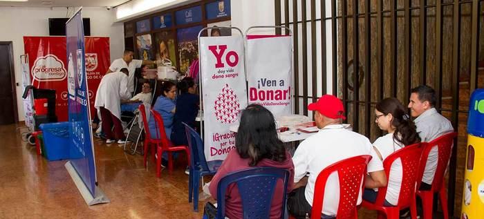 Ciudadanos deben motivarse a donar sangre