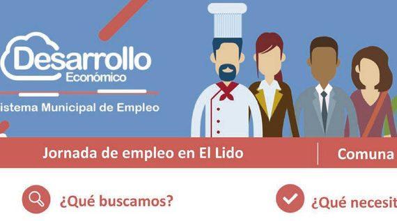 Más de 800 vacantes se ofertarán en la jornada de empleo en el barrio El Lido
