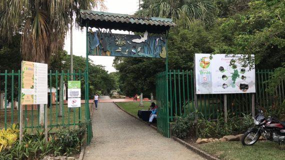 El parque de las Garzas, en memoria del vuelo 965