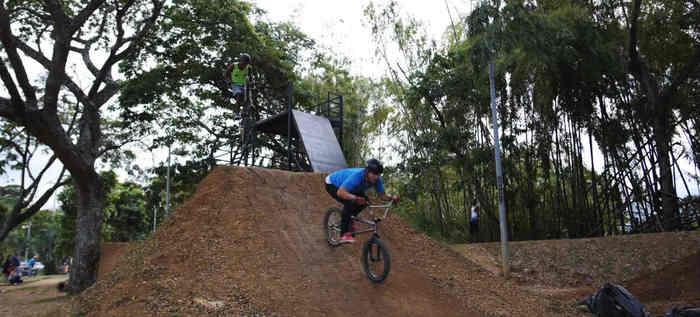 Pista de BMX del Parque El Ingenio: única con estándares internacionales en el Valle del Cauca