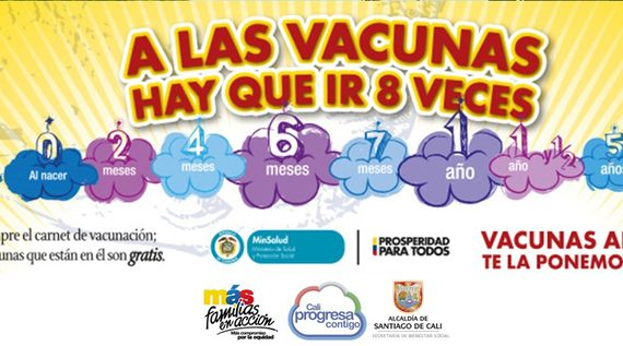 Convocan a beneficiarios de Más Familias en Acción para jornada de vacunación