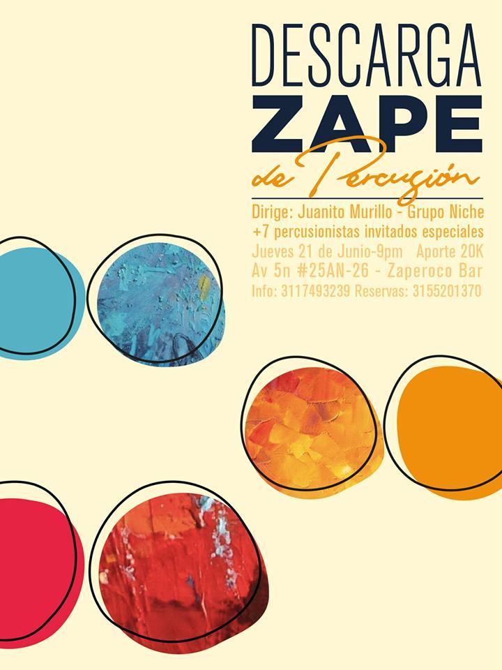 Descarga de percusión este jueves en Zaperoco