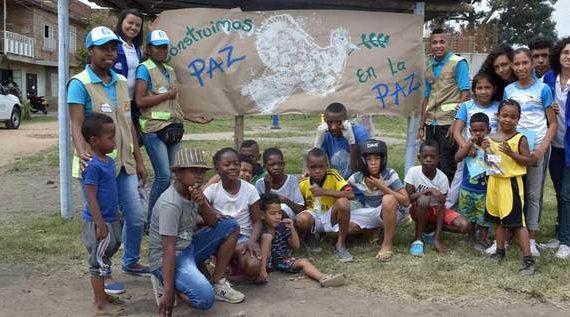 Jóvenes de Paz al Barrio generan espacios de encuentro en la comuna 13