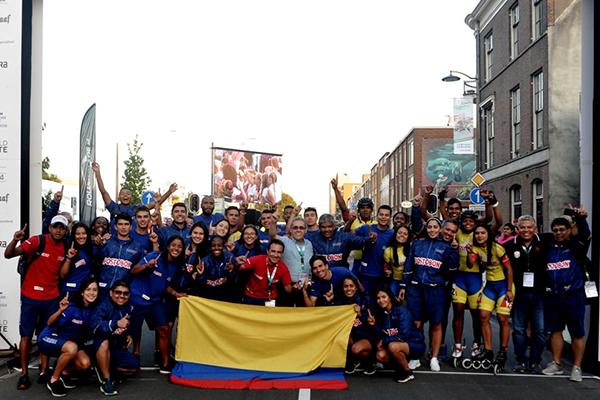 Colombia patinó hacia la gloria