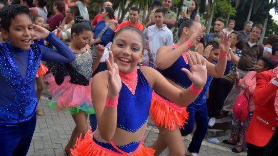 Los niños: protagonistas del decimotercer Festival Mundial de Salsa de Cali