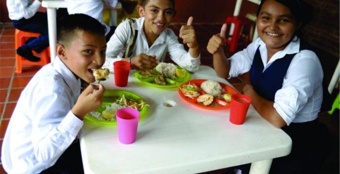 Con actividades lúdicas se promueve en el Valle el Programa de Alimentación Escolar-PAE