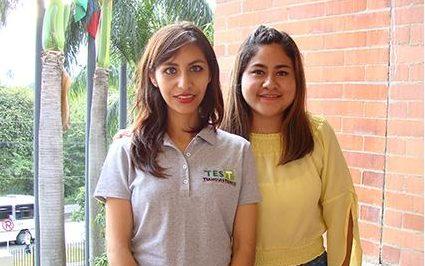 Dos estudiantes mexicanas en estancia académica en la UAO