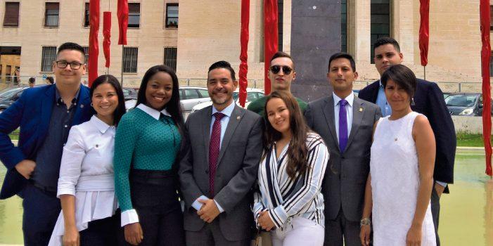 Javerianos vivieron experiencia jurídica en el Summer Course de La Sapienza en Roma
