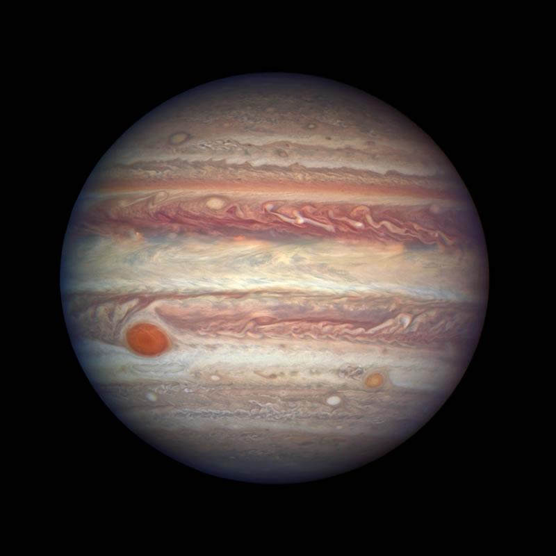 El Telescopio Espacial James Webb estudiará la Gran Mancha Roja de Júpiter