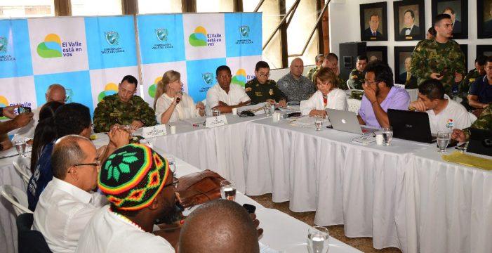 Consejo de seguridad ordena protección inmediata a líderes amenazados en el Valle