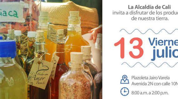 Hoy, día de Mercado Agroecológico en la plazoleta Jairo Varela
