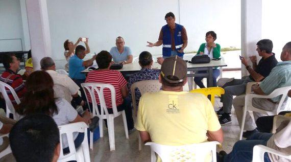 Municipio reaunuda obras de agua potable y saneamiento básico