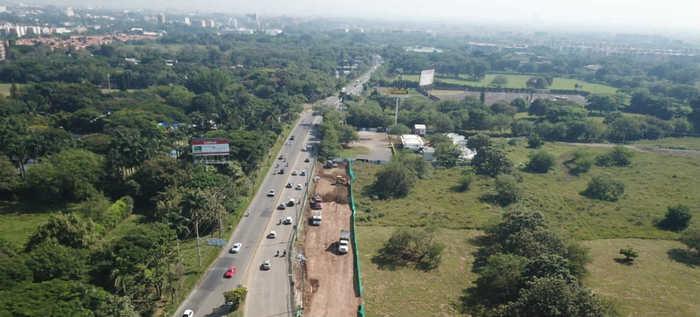 Avanza ampliación de la vía Cali–Jamundí