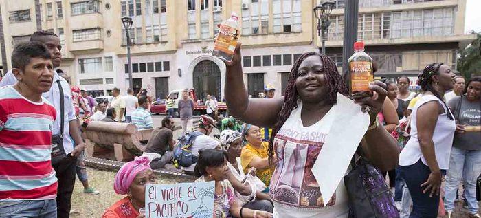 Comunidad afro reclama sus derechos sobre el 'Viche'