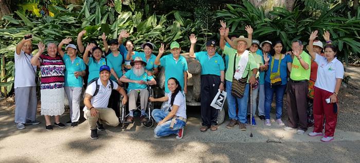 Adultos mayores de la Comuna 1 conocieron el Zoológico de Cali