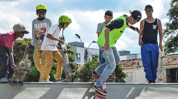 Los valores serán exaltados en el 'Festival de Deportes Extremos' del barrio Ciudad Córdoba