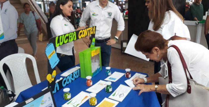 Con espacios de participación ciudadana la Gobernación se unió al Día Contra la Corrupción