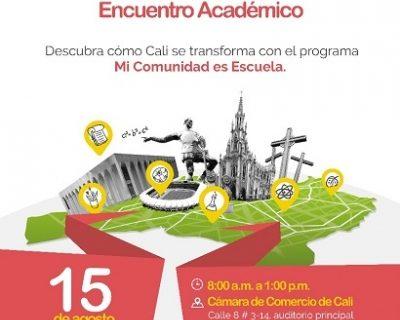 """Encuentro Académico """"Educación para el Progreso"""" en la Cámara de Comercio"""