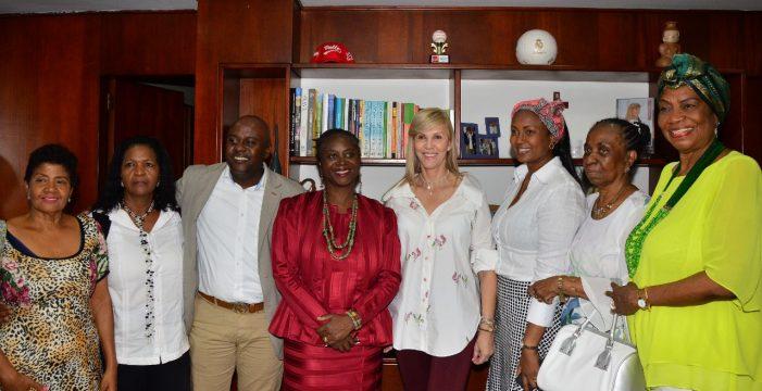 Embajadora de Ghana estudiará Plan Decenal de la Población Afro del Valle