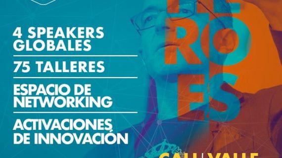 El Valle del Cauca se une a Héroes Fest, un festival para emprendedores e innovadores de la región