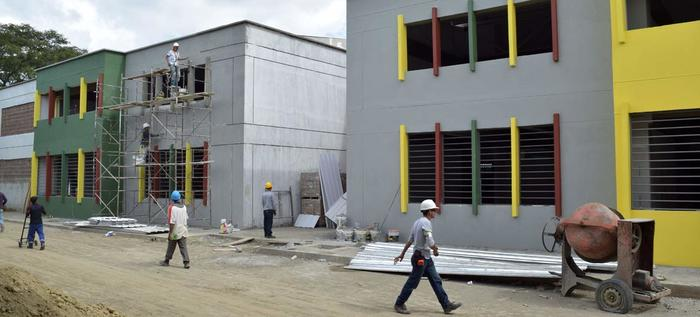 obras institucion educativa