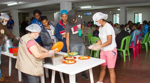 Arquidiócesis de Cali canalizará ayudas en especie para venezolanos