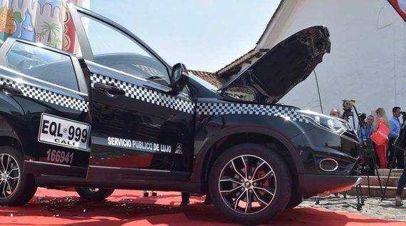 Taxis de Lujo inician operaciones en Cali