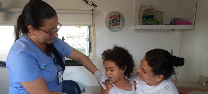 En Cali hay disponibilidad de vacunas contra la fiebre amarilla