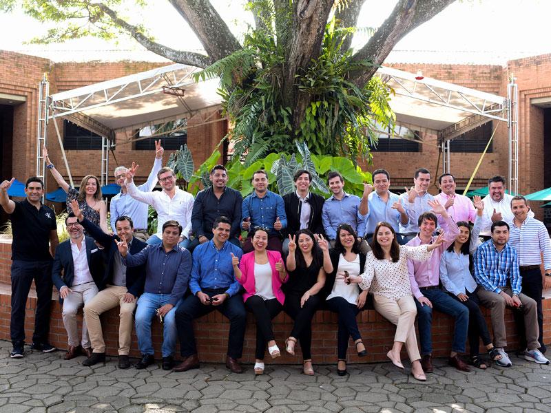 Estudiantes del MBA de Chile