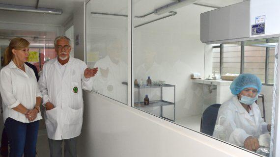 Entregan moderno laboratorio in vitro al ITA, de Buga
