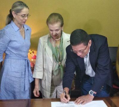 Proartes y Univalle firmaron convenio para apoyar a la Filarmónica de Cali