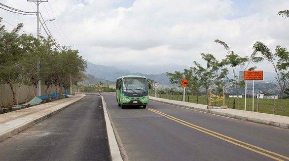 Se reanudan las obras de la ampliación de la vía a Pance
