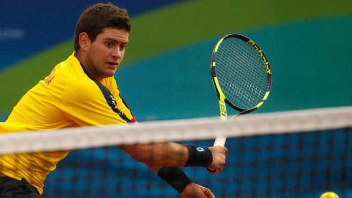 Tenista Valle Oro Puro Nicolas Mejía fue convocado para jugar Copa Davis