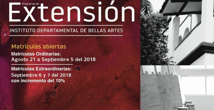 Matrículas abiertas para talleres en Bellas Artes
