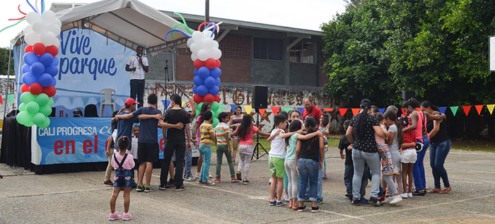 """Este fin de semana """"Vive el Parque"""" llevará diversión a familias de La Leonera y comunas 1, 6, 14 y 18"""